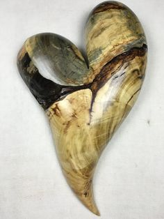Wooden heart Wedding gift art wood by TreeWizWoodCarvings on Etsy Carving Tools, Wood Carving, Heart Art, Love Heart, Valentine's Day Sugar Cookies, Valentine Hearts, Heart Images, Wood Tree, Wooden Hearts