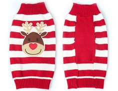 PetBoBo Winter Christmas Red Nose Rudolph Dog Clothes Cat Sweaters Pet Jerseys Clothing Gear Coats Apparel for Small Medium Dogs ** Additional details at the pin image, click it  : Christmas Presents for Cats