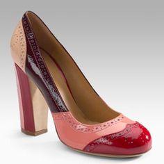 red pink burgundy