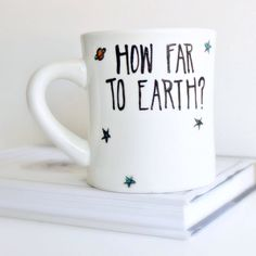 Sci Fi, Funny Mug, sci fi gift, coffee mug, tea cup, science gift, earth, alien, outer space, fantasy, geek, nerd gift, nasa, science by KnotworkShop on Etsy https://www.etsy.com/nz/listing/152523400/sci-fi-funny-mug-sci-fi-gift-coffee-mug