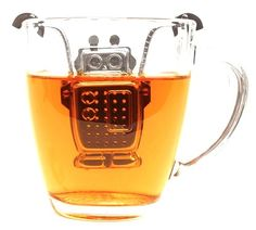 Hahahaha! Def need this for the office: Robot Tea Infuser