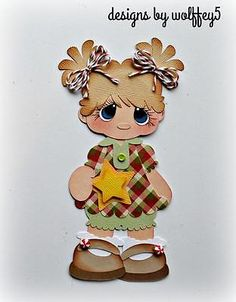 CRAFTECAFE GIRL STAR XMAS paper piecing premade scrapbook page die cut WOLFFEY5 | Artesanato, Scrapbooking e artesanato em papel, Peças e páginas pré-montadas de scrapbooking | eBay!