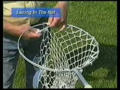 Making A Crab Net Pt 4 of 4 - YouTube