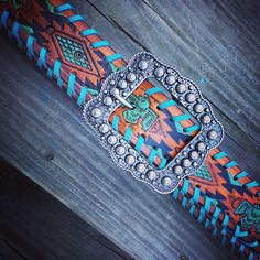 You are ordering a custom belt in your size. Please lay an existing belt out and measure fold to the hole you use to determine your size and order accordingly. Country Girl Style, Country Girls, My Style, Gypsy Cowgirl, Belts For Women, Leather Working, Beaded Belts, Women's Belts, Leather Craft