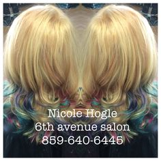 Mermaid hair. Olaplaex.  Highlights starting at $75/Balayage/ombre starting at $85. Haircuts included with all colors $75 and over.       styleseat.com/nicolehogle 859-640-6445 Dew or Dye 33 east 8th Newport Ky 41071