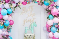 Unicorn Food Decor And Outfits Made This First Birthday Party A Fantastic Sparkly Bash