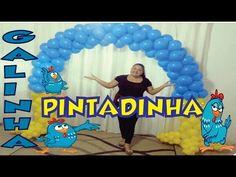 Como fazer Arco Galinha Pintadinha de Balões