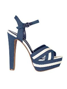 You'll feel like Jane Russell in Gentlemen Prefer Blondes wearing these shoes.
