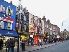 Um dos melhores lugares de Londres!!! edgy candem town, london.