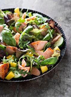 Mango-lohisalaatti | K-ruoka #kalareseptit