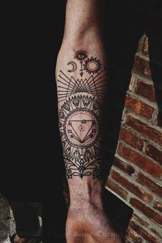 janus tattoo geometric - Recherche Google