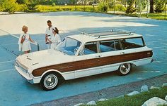 1962 Ford Falcon Squire Station Wagon