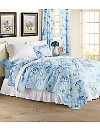 Hydrangea Blossom Duvet Cover by linensource