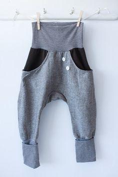 linen pants that grow with your child, by la petit cochon