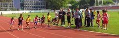 GBAC athletisc meet held at National Stadium in central Bangkok. Berkeley international school in Bangkok won both the U9 & U11 team trophies competing against 5 other schools. 400m event!