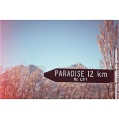 Let's go to paradise