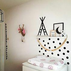 Masting tape mur Baby Bedroom, Baby Boy Rooms, Baby Boy Nurseries, Girls Bedroom, Washi Tape Wall, Masking Tape, Moise, Kids Decor, Kids House