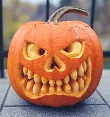 Thanksgiving Recipes Legend of picture score for pumpkin carving ideas 2016 result # … Scary Pumpkin Carving, Pumpkin Carving Patterns, Pumpkin Art, Pumpkin Faces, Simple Pumpkin Carving Ideas, Pumkin Ideas, Creepy Pumpkin, Carving Pumpkins, Halloween Tags