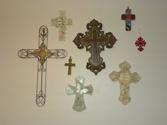 Cross Wall. I have a tendancy to go overboard, this is simple but pretty.