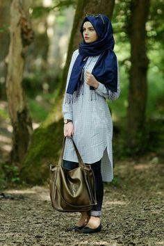 Hijab Casual, Hijab Chic, Islamic Fashion, Muslim Fashion, Hijab Dress Party, Hijab Trends, Girl Fashion, Fashion Outfits, Hijab Fashion Inspiration