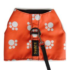 I have this LE Walking Vest in small.  The orange looks grr-eat with my black floofs.  Mew Mew!