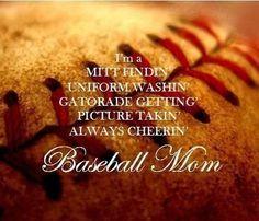 Baseball Mom #Baseball #Baseballmom #Sports