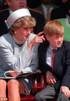 File photo dated of the Diana, Princess of Wales with Prince Harry who has said he regrets not opening up sooner about how his mother's death affected him. Lady Diana Spencer, Diana Son, Spencer Family, Kate Und William, Prince William And Harry, Prince Harry And Meghan, Prince Charles, Princesa Diana, Prince Harry Pictures