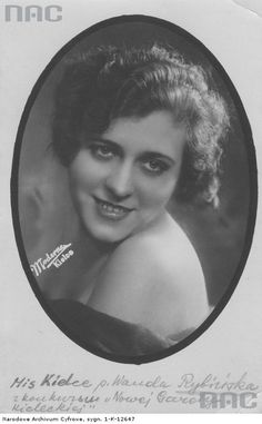 Wanda Rybińska - Miss Kielc 1932