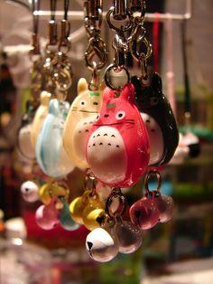 Totoro keychains