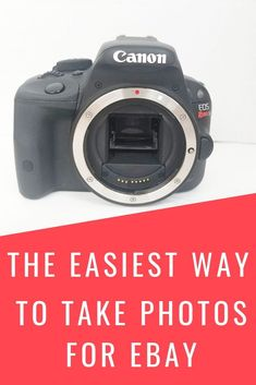 Want to take great photos for your ebay listings?  In this blog post, I share my best ebay photo tips and my ebay photo setup. Take photos for ebay the easy way without spending a fortune! Making Money On Ebay, Making Extra Cash, Make Money From Home, How To Make Money, Ebay Selling Tips, Selling Online, Earn More Money, Ebay Listing, Budgeting Money