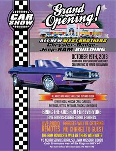 Car Show | Sullivan, Missouri | October 19th, 2013