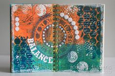 StampingMathilda: Art Journal - Your Living Canvas #4