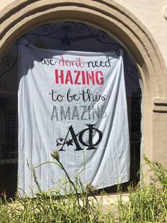 Hazing is not apart of our sisterhood. Alpha phi supports Hazing Prevention Week this week and every week!