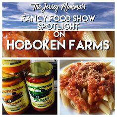 The Jersey Momma: Fancy Food Show Spotlight on: Hoboken Farms Big Pasta Sauces!