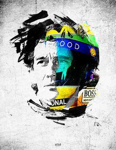 Ayrton Senna Uma Inspiração para todos fãs de automobilismo!