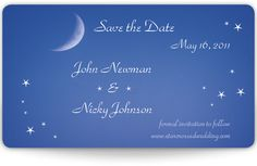 Mini Save the Date Magnets - Meant to Be