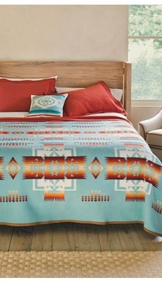 Chief Joseph Blanket Collection. Pendleton. Would be a splurge but love for the spare room.