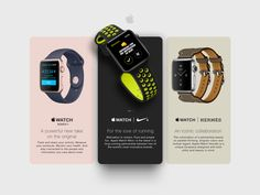 Hello, Apple Watch presentation using simple cards layout . Mobile Watch, Interactive Design, One Design, Apple Watch, Branding Design, Pure Products, Watches, Ios, Goodies