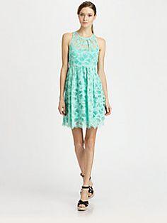 Wedding Guest:  Nanette Lepore - Secret Escape Lace Dress