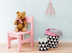 Meisjeskamer met roze en mintgroen - #wonenvoorjou