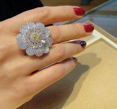 Mike Jeweller diamond ring ~ Instagram