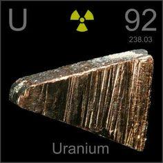 92   U - Uranium