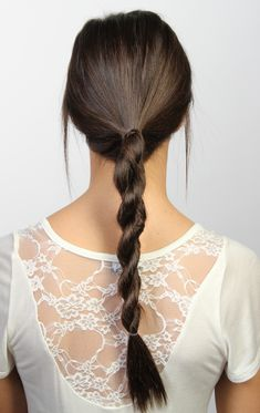 Rope braid - sadly I have never been able to get my hair to do this