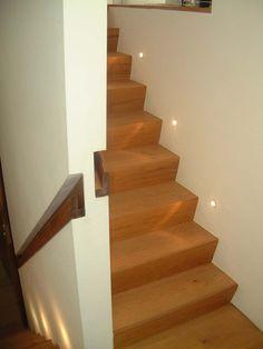 Recessed Walnut Handrail • Kestrel Avenue • Herne Hill • London • Syte Architects • 2007