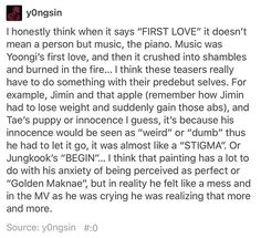 This is real, this is truth... This is what we all need... REALITY! ❤ #BTS #방탄소년단
