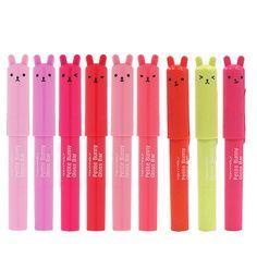 Tonymoly Tony Moly Petite Bunny Gloss Bar Lip Gloss 2g #9 Neon Red