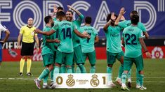 Real Madrid 1 - 0 Espanyol ⚽ Casemiro 45' Isco, Victor Lopez, Real Madrid Win, Raphael Varane, Thibaut Courtois, Toni Kroos, James Rodriguez, Gareth Bale, The Championship