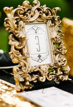 A guide to styling your art deco wedding - Glam designs | CHWV