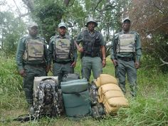 Heros.  Rhino rangers that work every day to save the Rhino.  Learn more about how to help. Essential rhino ranger gear for them to go out on patrol