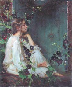 In The Stillness by Daniel Gerhartz. (the flowers)